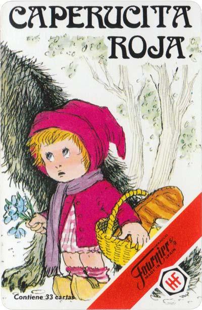 Caperucita Roja card game published by H. Fournier, 1981