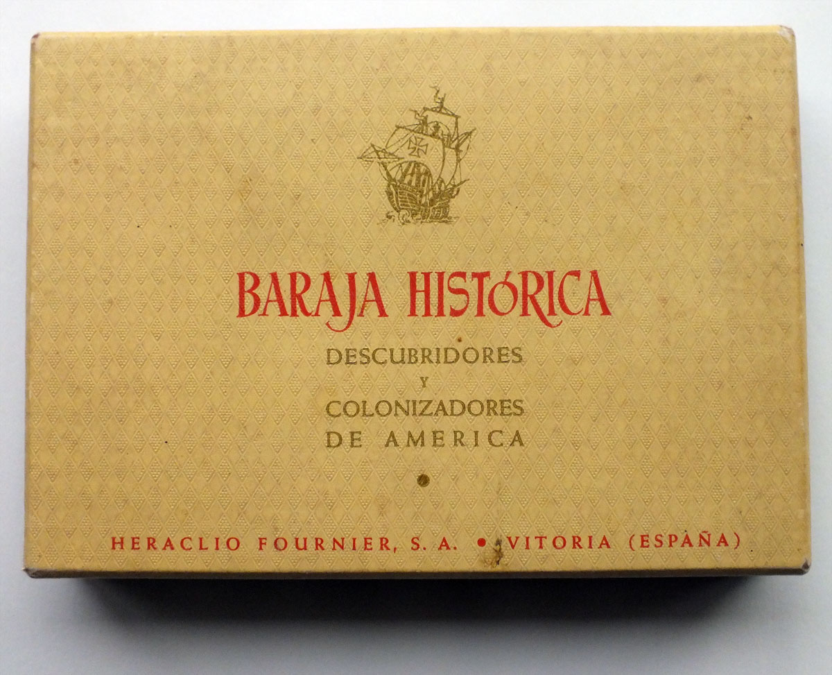 Historical Playing Cards published by Heraclio Fournier, first edition 1952