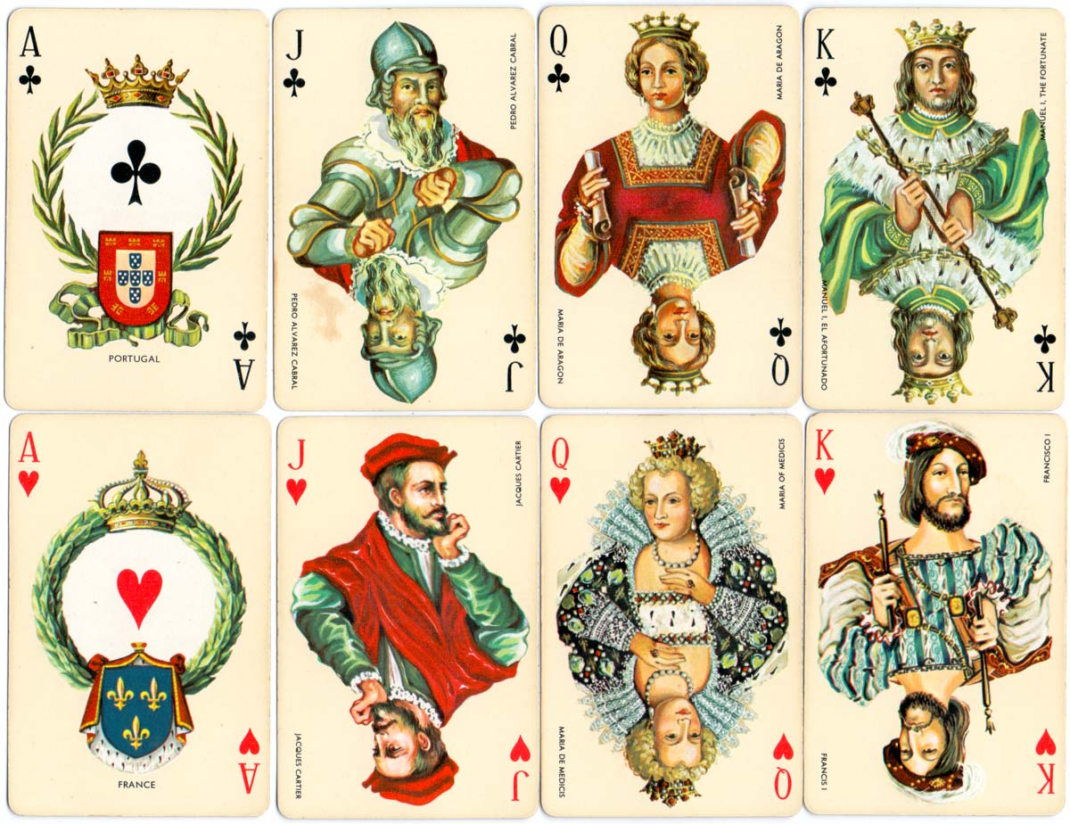 European Naval Powers deck illustrated by Isabel Ibáñez de Sendadiano and produced by Heraclio Fournier in 1981