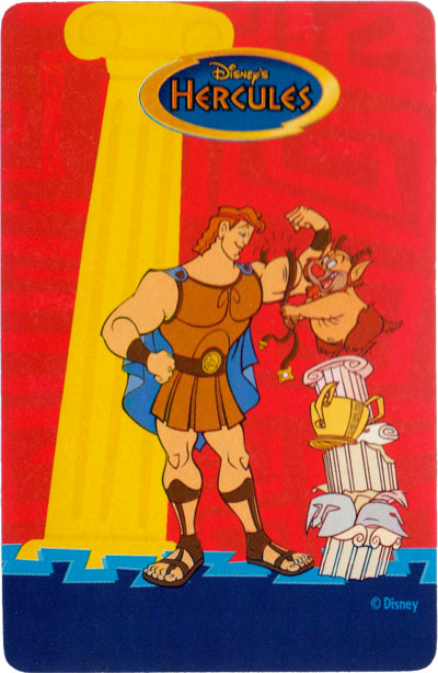 Hercules card game published by Herclio Fournier, 1997