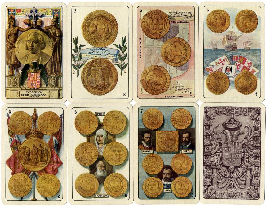 Ibero-American deck, 1929.