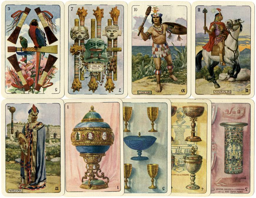 Ibero-American deck, 1929