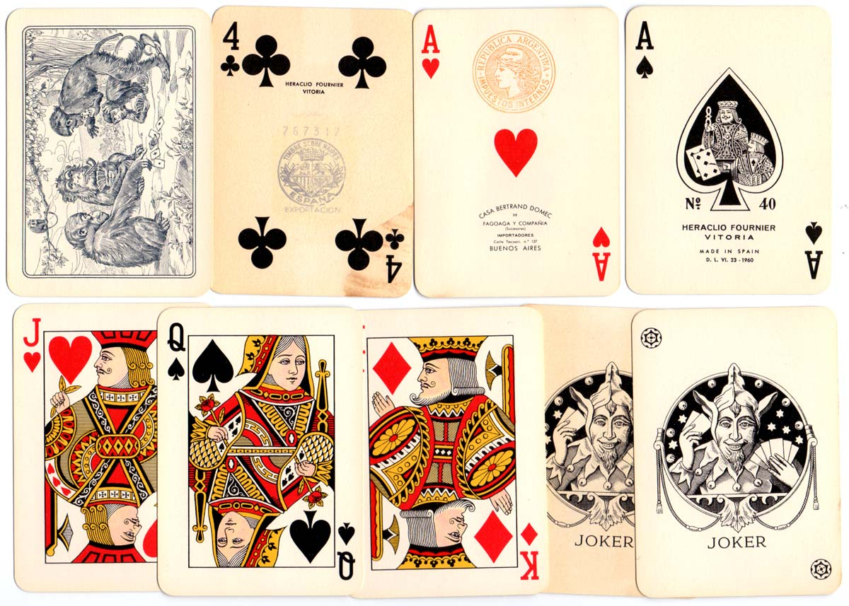 "Heraclio Fournier's ""Poker N°40"" c.1960"
