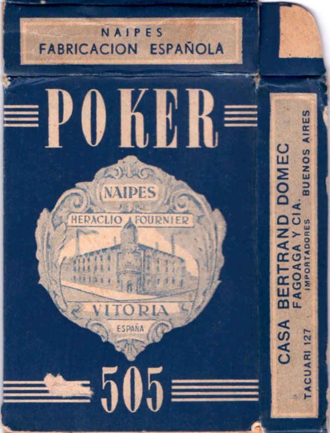 Box from Fournier Poker Nº505