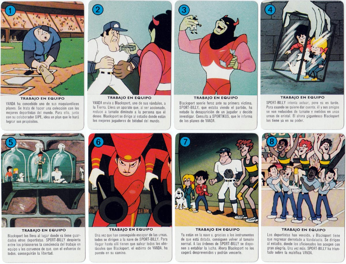 Aventuras de Sport-Billy by H. Fournier, 1981