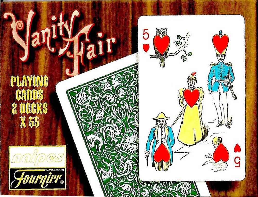 Reproduction Vanity Fair Transformation Playing Cards