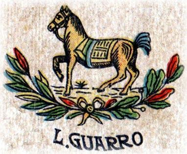 """Luis Guarro's """"El Caballo con Manta"""" logo"""