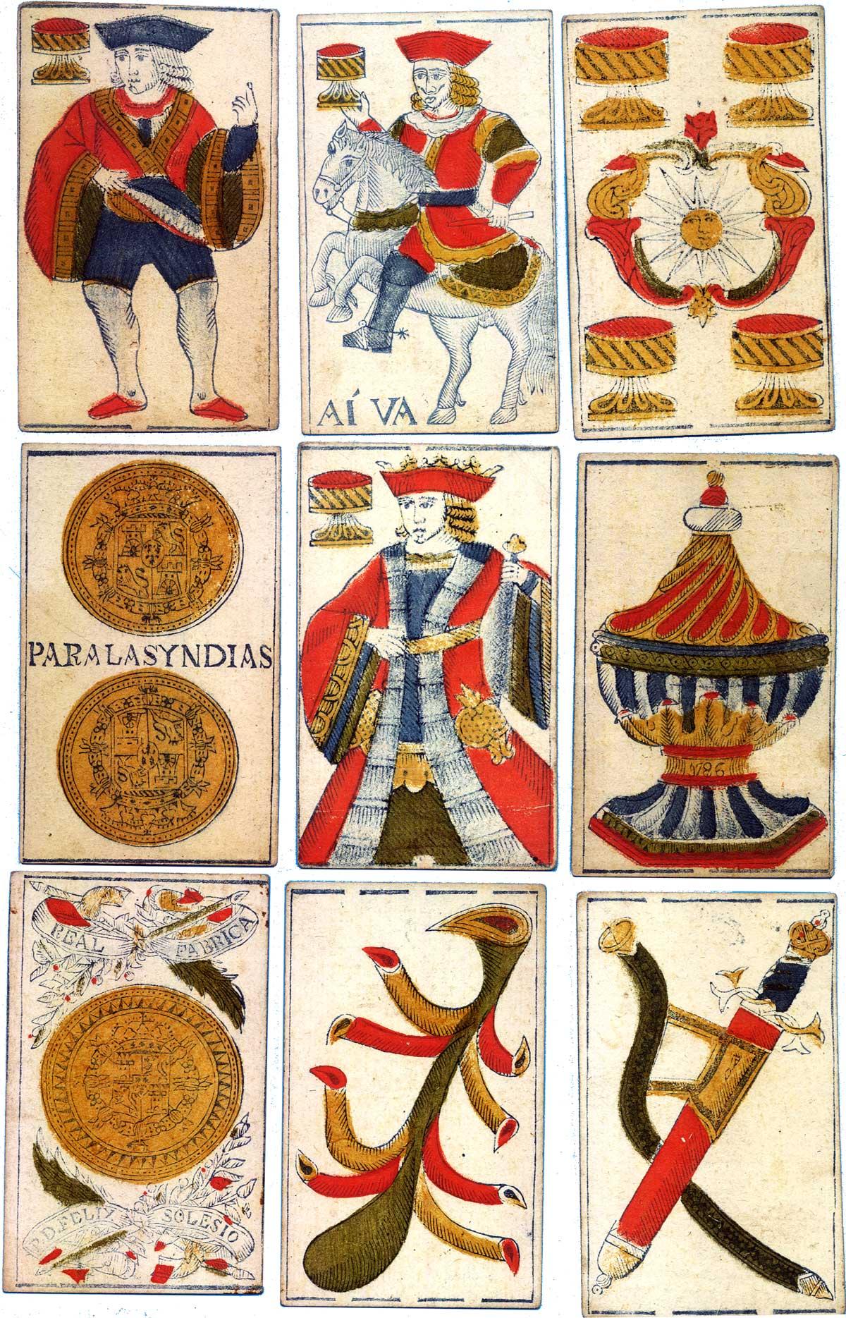 Félix Solesio, Spanish National pattern, 1786