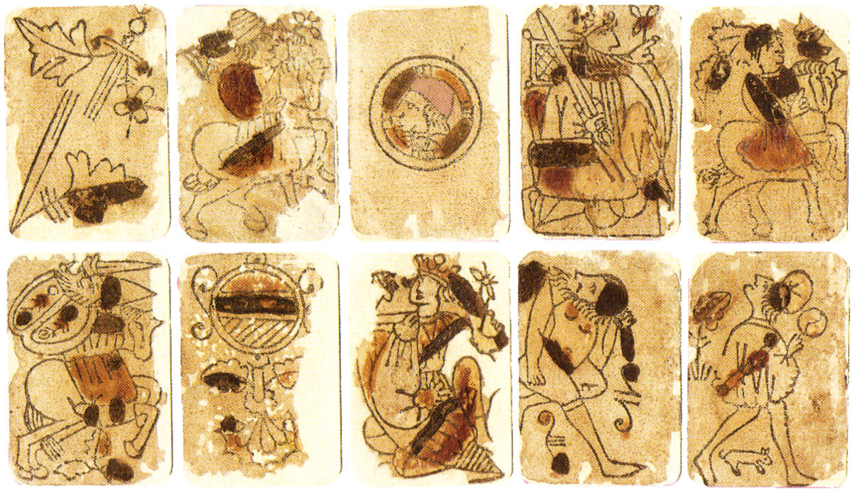 Early XV Century Playing Cards, Baraja Morisca