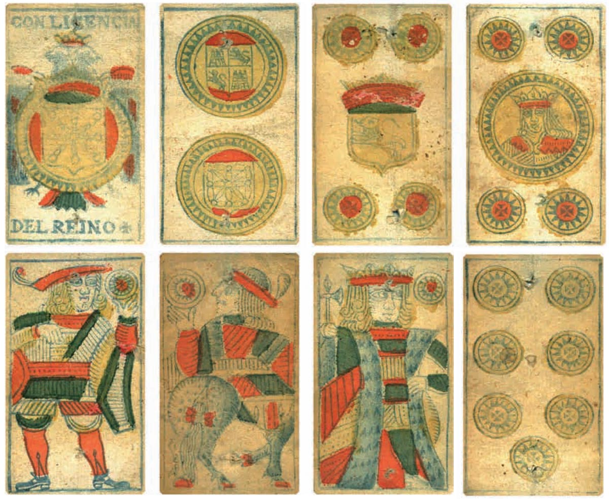 Navarra Pattern produced for the Pamplona General Hospital Monopoly by Pedro Varangot in 1786