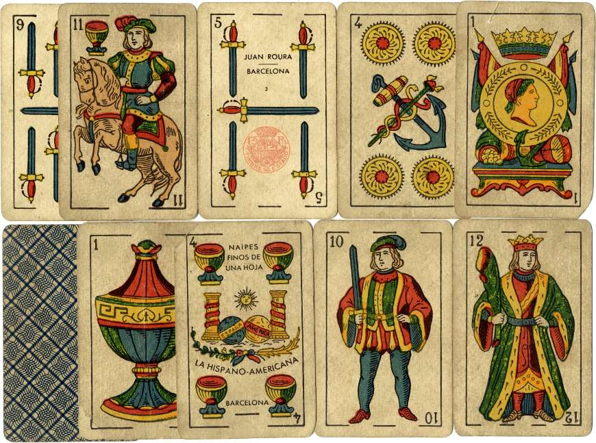 Catalan type by Juan Roura, La Hispano-Americana, Barcelona (1872 - 1962)