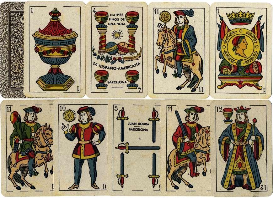 Catalan type by Juan Roura, La Hispano-Americana, Barcelona (1872 - 1962) exported to Cuba, c.1950