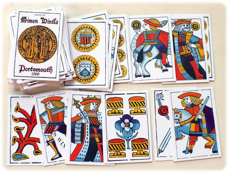 Simon Wintle's Spanish Suited Playing Cards