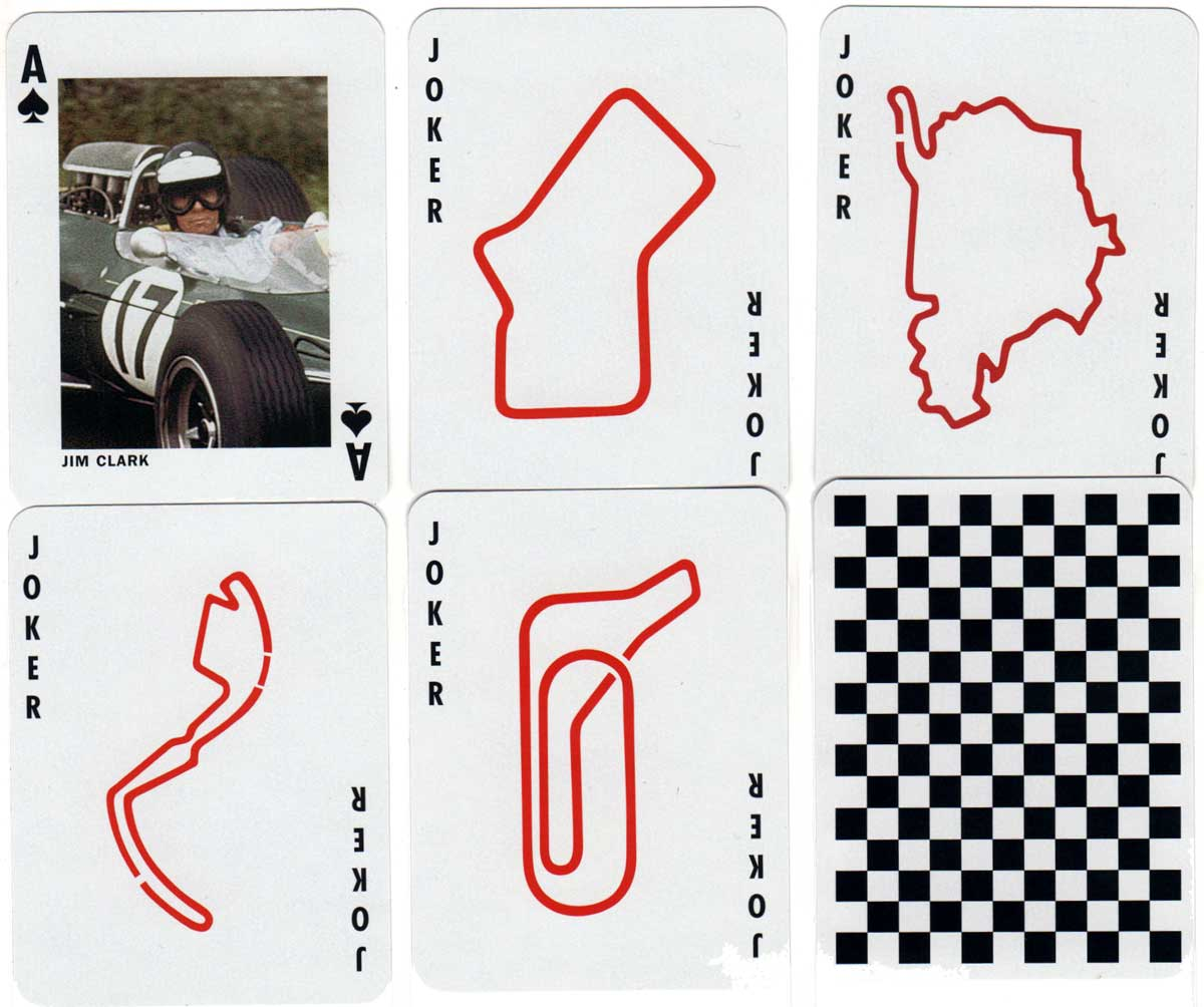"Grand Prix Champions"" playing cards printed by Offason"