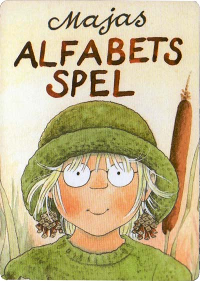 Maja's Alfabets Spel illustrated by Lena Andersson, 1980s