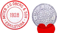 Öberg & Son stamp