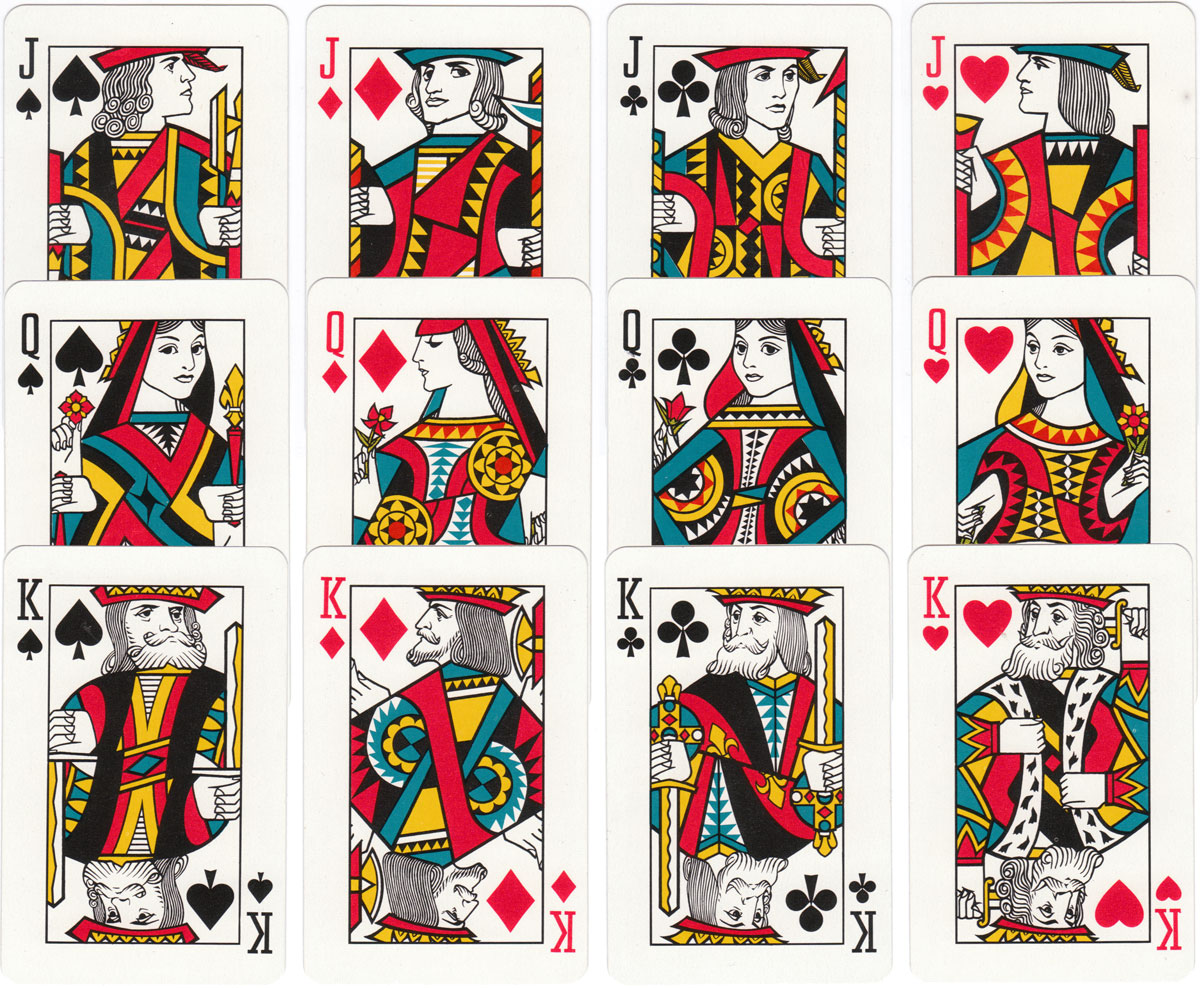 'Svenska Lloyd' shipping company playing cards published by J.O. Öberg & Son, Eskilstuna, c.1955