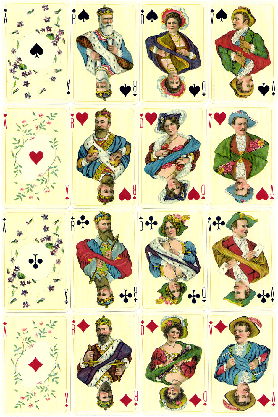 """Casino"" pack made by J. Müller & Cie & Cie, Schaffhouse."