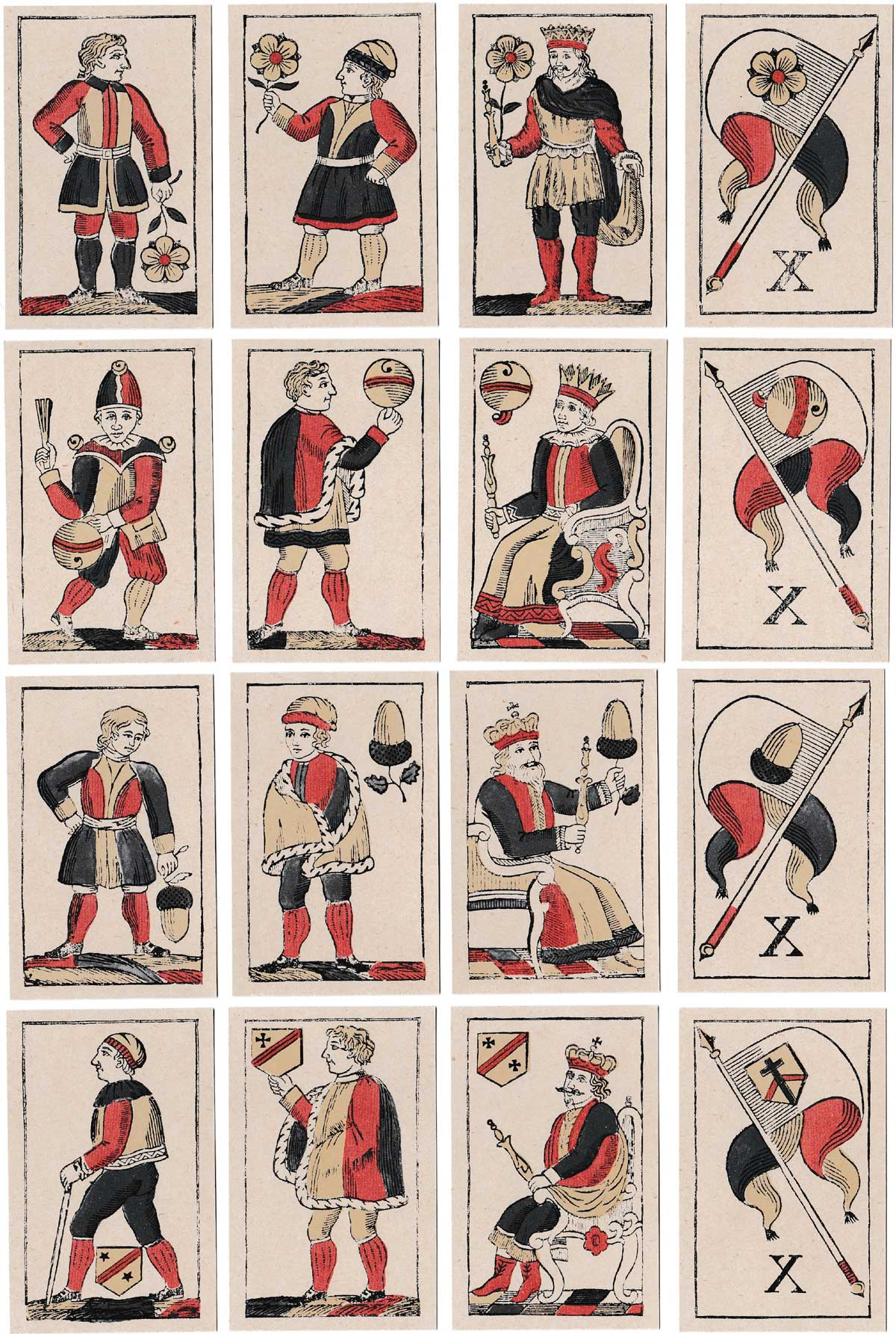 Facsimile edition of deck first published by Johannes Müller in c.1840