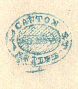 St Gallen Tax Stamp