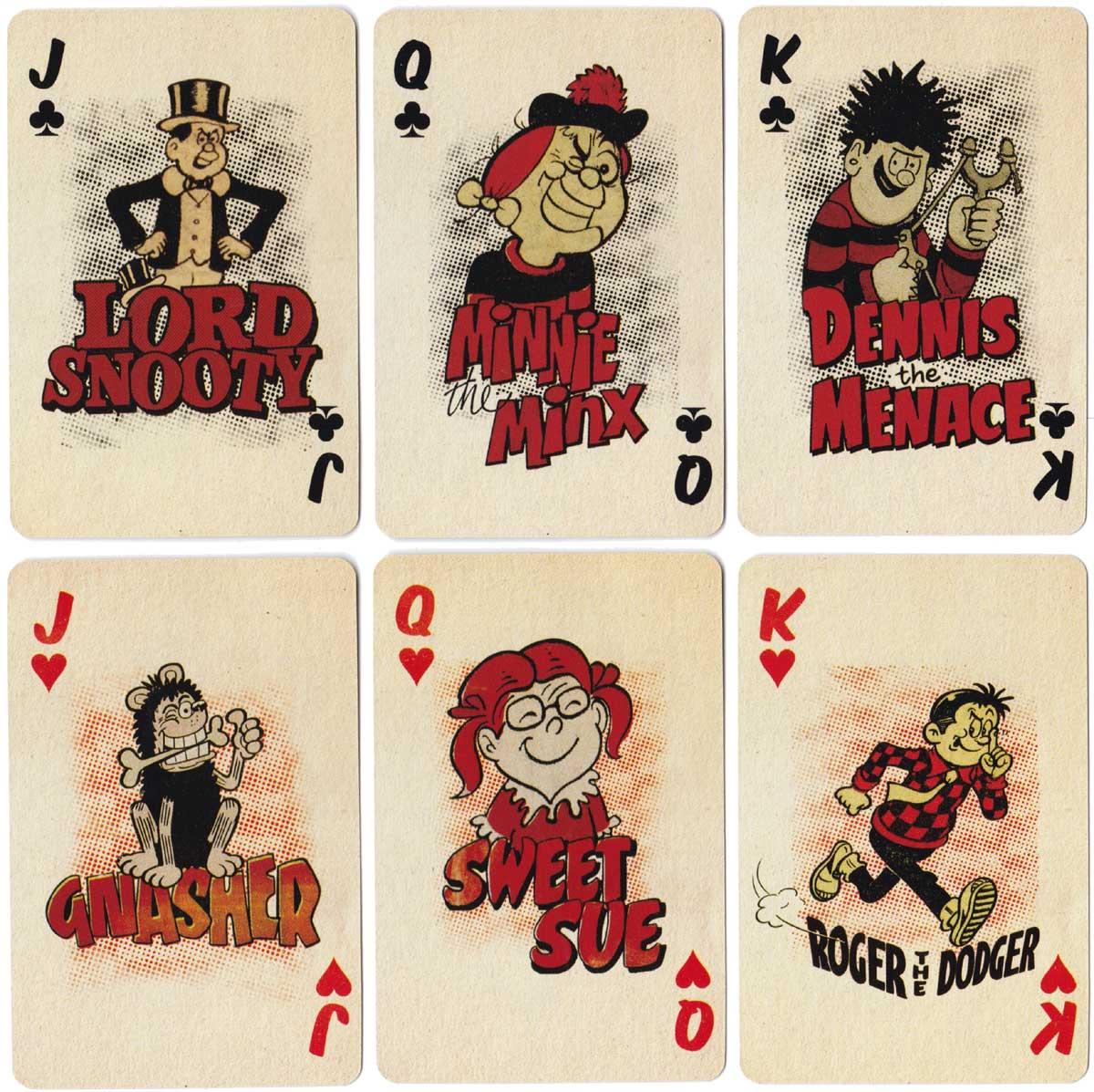 Beano Playing Cards 2009 made in Taiwan