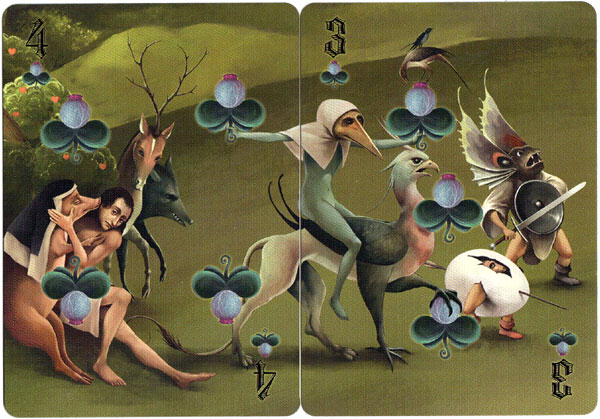 Bosch Puzzle Playing Cards by Sunish Chabba, 2020
