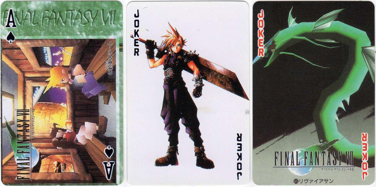 Final Fantasy VII role-playing video game, 1997
