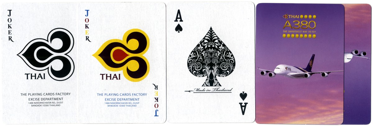 Thai Airlines Playing Cards