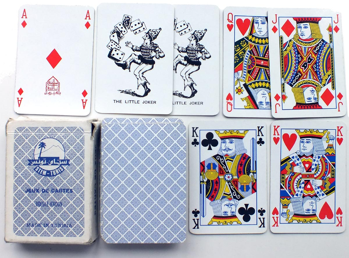 'Rami' playing cards made in Tunisia, c.1975