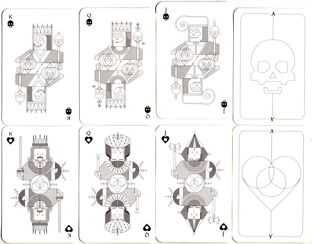Whimsical Playing Cards designed by Oksal Yesilok, 2016