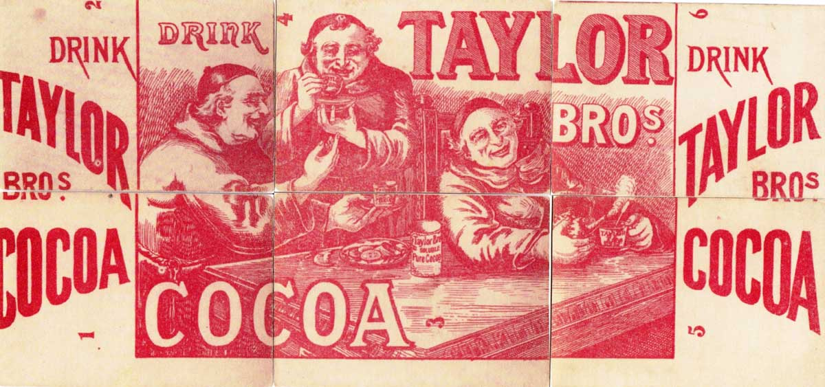 Adverto card game published by Adverto Publishing Company of Stratford, London, c.1910