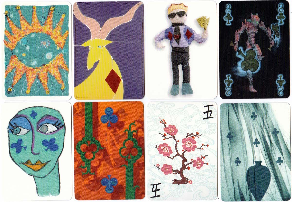 The Bristol Pack, an exhibition of playing cards designed by Bristol artists, 2005