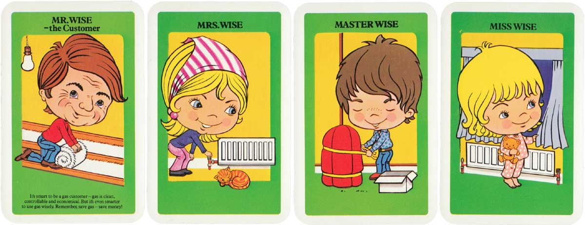 Happy Gas Families published by British Gas, c.1985