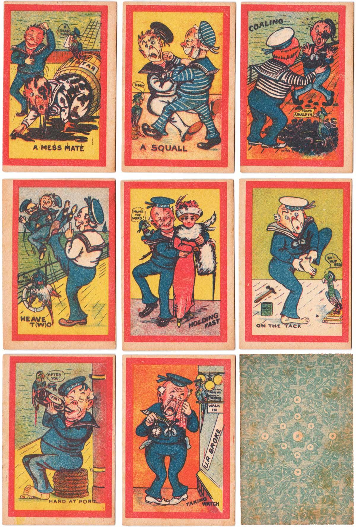 Jolly Jack Tar Snap made in England, 1920s
