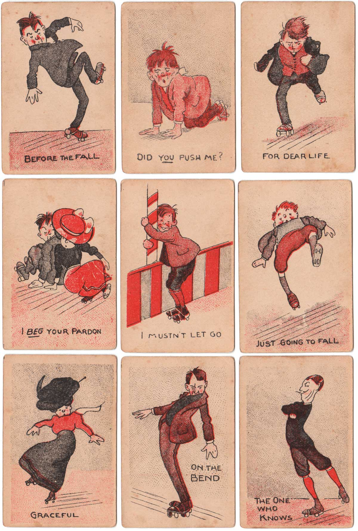 The 'Rinker' highly amusing snap game, c.1910