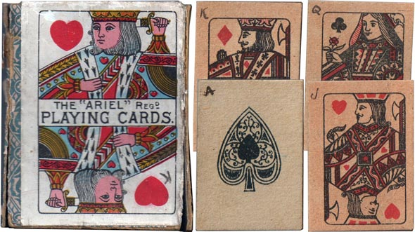 Ariel Playing cards, c.1900