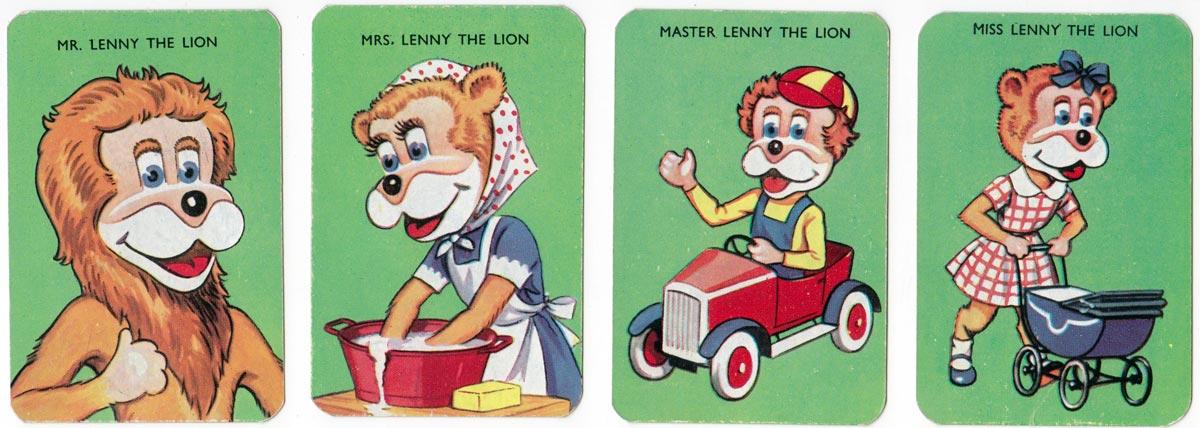 Lenny the Lion's Happy Families, 1960