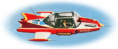Supercar Snap Snap, 1961