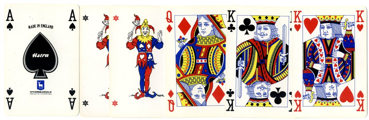 Astra Games Ace of Spades, Joker & Courts