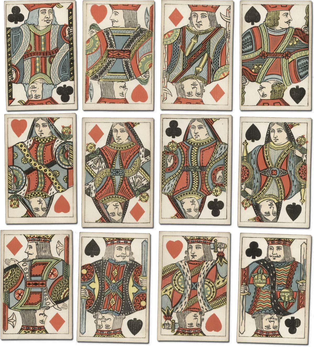 double-ended cards by Bancks Brothers c.1870