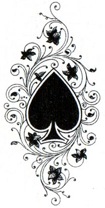 British Playing Cards anonymous Ace of Spades c.1920 - 1925