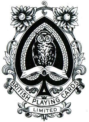 British Playing Cards Ace of Spades c.1920 - 1925