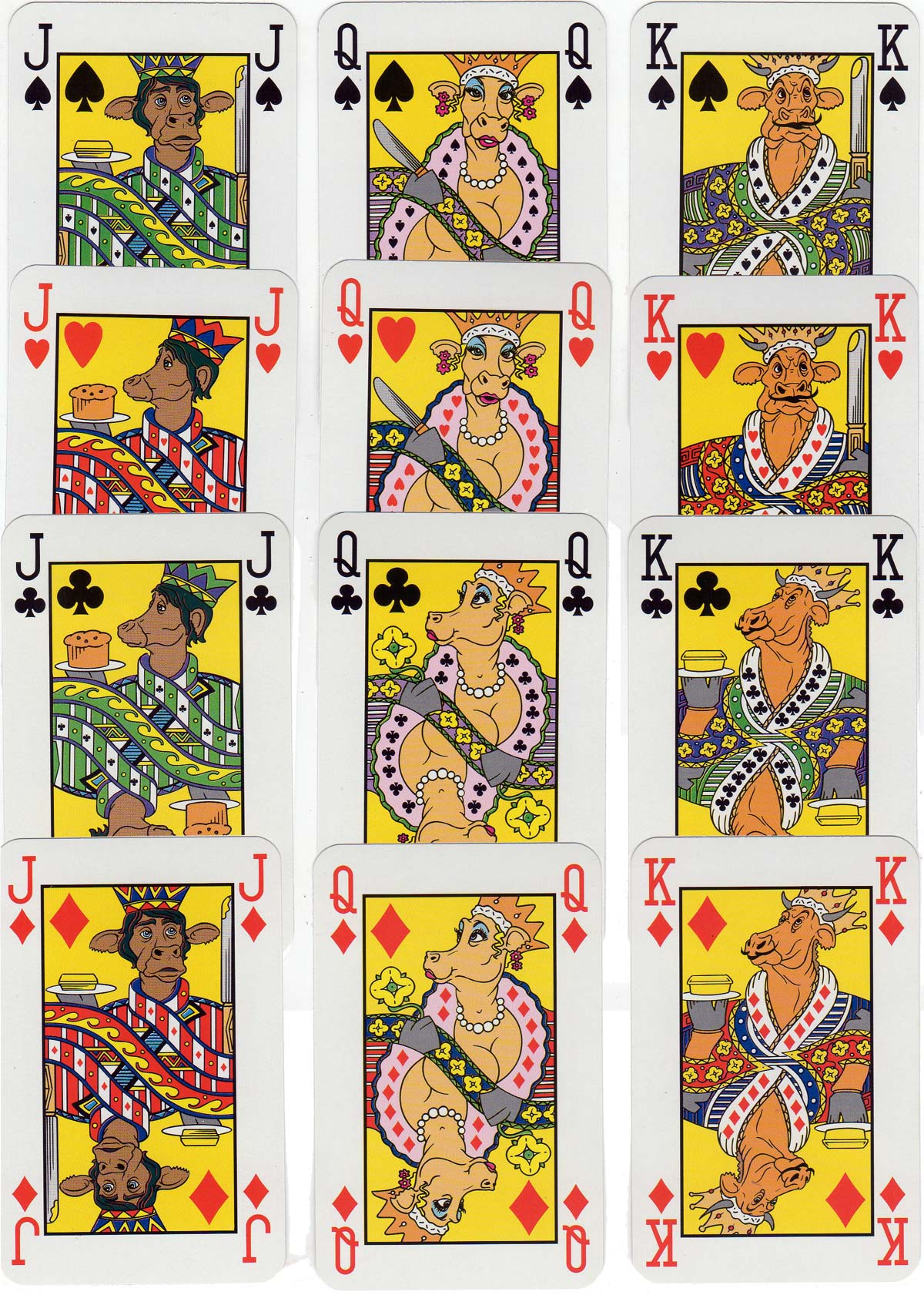 I Can't Believe It's Not Butter playing cards, 1997
