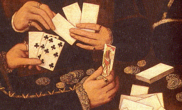 Elizabethan card players