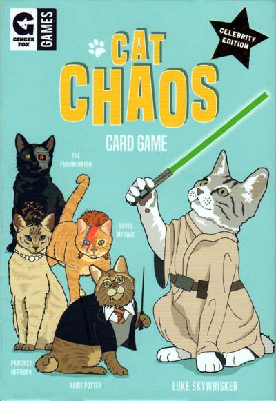 Cat Chaos card game by Ginger Fox Games, 2017
