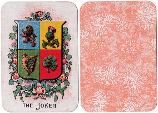 """Blaze"" card game manufactured by Johnson Bros/Chad Valley, c.1920"