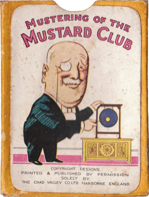 """Mustering of the Mustard Club"" box"