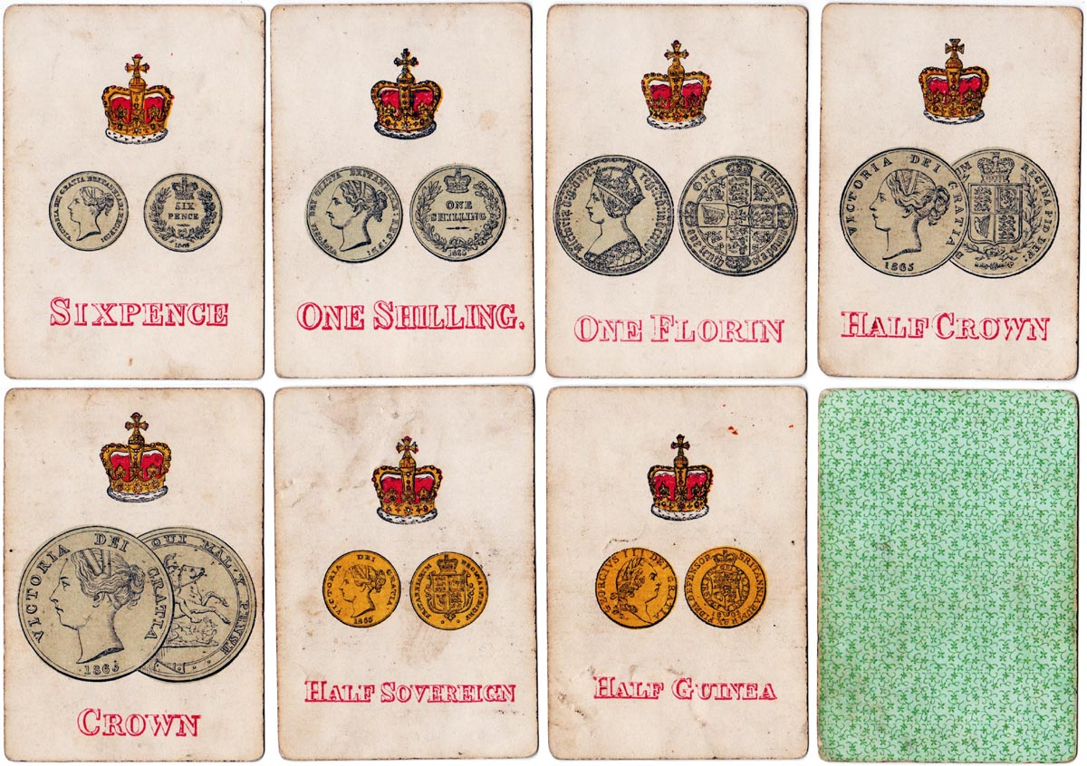 Change for a Sovereign card game published by Joseph Evans & Sons