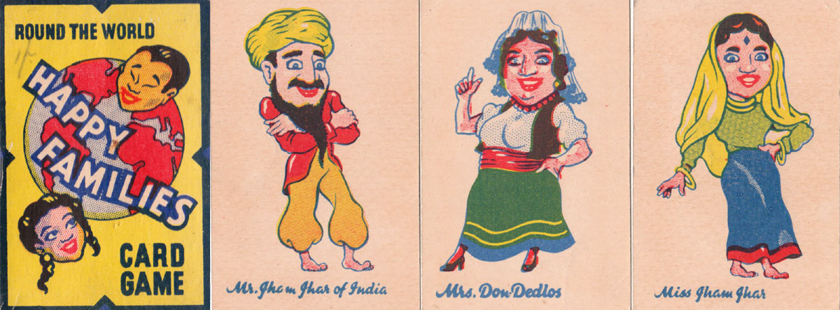Round the World Happy Families by Chiefton Products Ltd, c.1950s