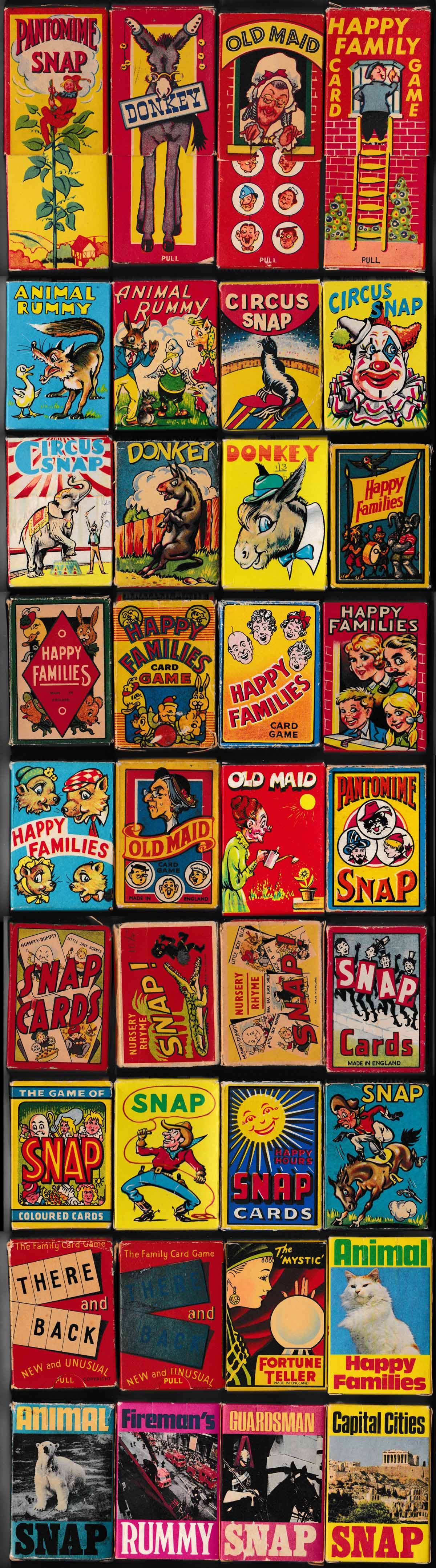 'Clifford Series' card games, 1950s-60s